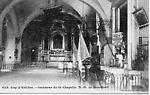Cap d'Antibes Intérieur de la Chapelle