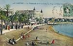 La Promenade de la Croisette, la Plage et l'Hôtel Carlton