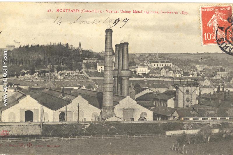 Usines métallurgiques fondées en 1895