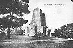 La Tour Magne, vers 1910