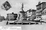 Allées de Tourny et statue de Gambetta