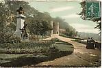 La statue du docteur Duchenne et le jardin des remparts