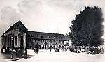 La vue du Musée et du monument de Pfeffel