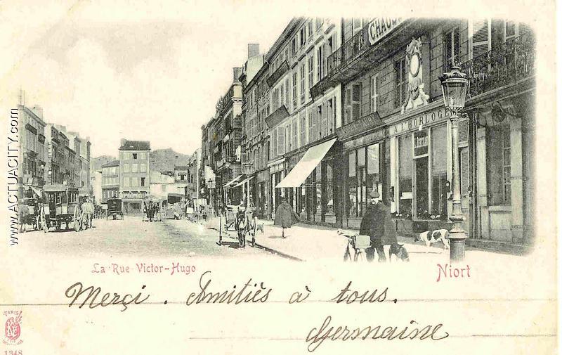 Niort - La Rue Victor-Hugo
