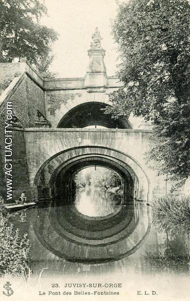 Le pont des Belles-Fontaines