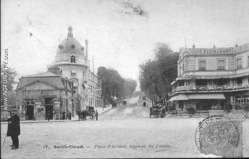 Place d'Armes, Avenue du Palais