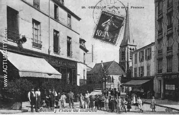 Place du Marche de GENTILLY